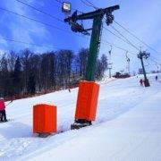 Polsteri slēpošanas