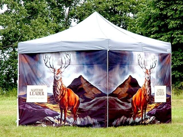 3x3 slaiekamā popup telts