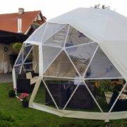 Telts D6 KUPOLS privāts pasākums