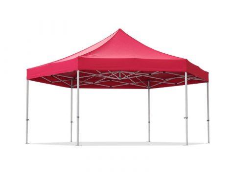 Telts PopUp hexagonal 6st (5,80m*5,80m)
