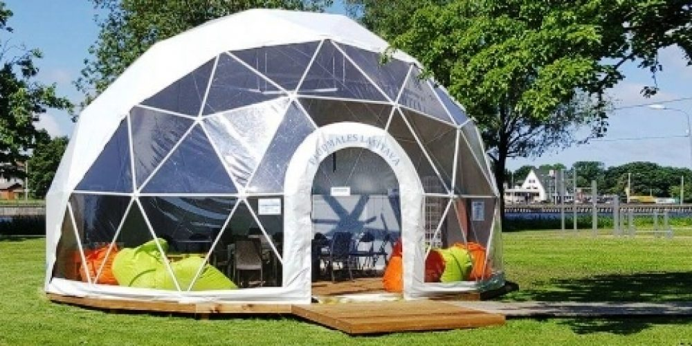 Geo dome tents